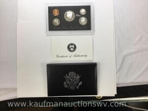 1997 United States Mint Silver Proof Set