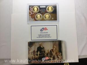 2008 United States Mint Presidential One Dollar Coin Proof Set