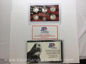 United States Mint 50 State Quarters Silver proof set