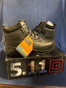 "SHIELD 6"" ZIP BOOT SIZE 15R"