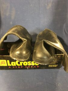 LACROSS LITE OVERSHOE-- ONE IS SIZE 8 AND THE OTHER IS SIZE 9