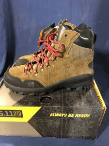 5.11 CABLE HIKER DARK COYOTE SIZE 10R MID BOOTS