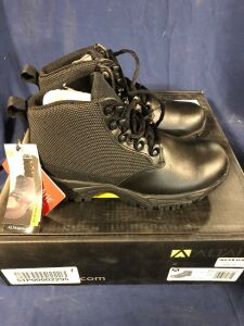 ALTAI TACTICAL BOOT SHORT BLACK SIZE 6 BOOT