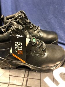 "ATAC 6"" SHIELD SIDE ZIP ASTM SIZE 9W MID BOOTS"