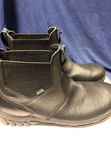 "DANNER LOOKOUT STATION OFFICE 4"" BLACK SIZE 10D MID BOOTS"