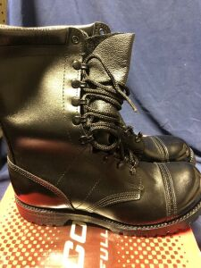 "CORCORAN 10"" LEATHER FIELD SIZE 10E BOOTS"