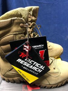 TR TACTICAL RESEARCH KHYBER COYOTE  11 SIZE 10.5R BOOTS