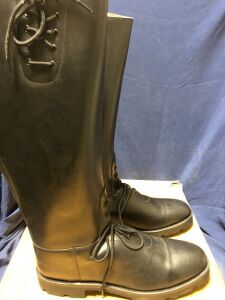 INTAPOL LAW AND ORDER PATROL BOOTS SIZE 11.5 X-WIDE