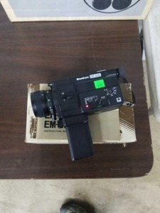 Vintage Sankyo EM-30xl Super 8 Movie Camera