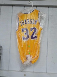 Magic Johnson Autographed Jersey With COA