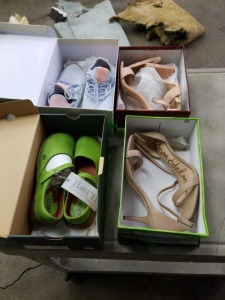 4 Pairs of Women's Shoes