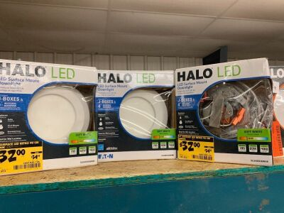HALO LED SURFACE MOUNTS DOWNLIGHT