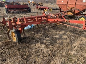Minneapolis Moline Cultivator with Harrow Attachment