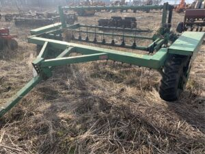 Pequa Machine Model 710G 8ft Hay Tedder