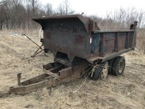 Farm built Dump Trailer