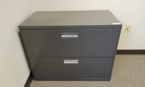 Metal 2-Drawer Lateral Filing Cabinet
