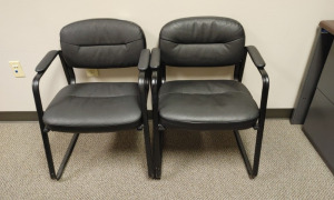 (2) Waiting Room Arm Chairs