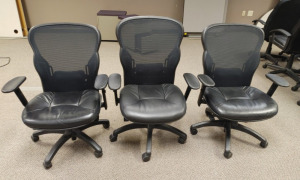 (3) Rolling Office Chairs