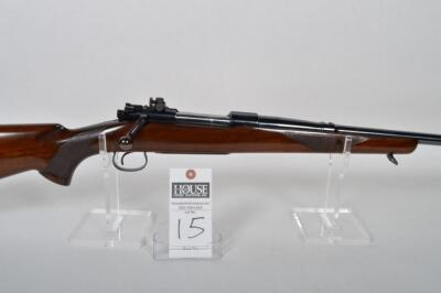 WINCHESTER Model 54, CAL. .220 SWIFT, bolt action, 26in. Blued barrel, excellent stock & forearm with nice checkering, near mint, Serial # 49397A
