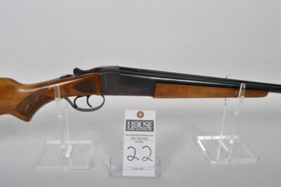 STEVENS Model 311 Series H by SAVAGE, .410 ga., Side x Side, 3 inch Chamber, 26 inch Blued barrels, case hardened receiver, nice wood Serial # A705760