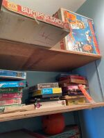 Closet full of puzzles, board games, Lite Brite and more - 2