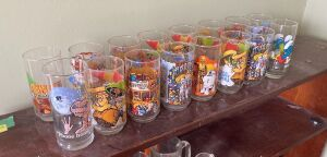 16 collector glasses