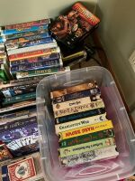 DVDs, VHSs (several Disney) and playing cards - 3