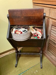 Sewing box and notions