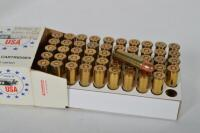 50 rounds of WINCHESTER CAL. .38SPL 130 grain full metal jacket - 5
