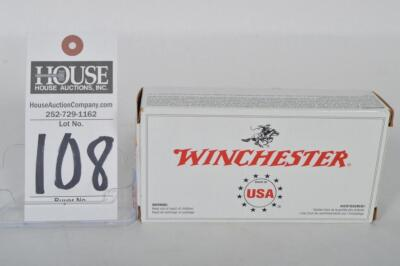 50 rounds of WINCHESTER CAL. .45 AUTO 230 grain full metal jacket