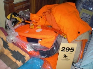 Blaze orange hunting clothes