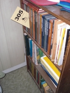 (3) Shelves: D.I.Y., reference materials