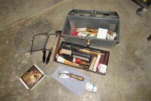 Plastic toolbox with Veritas specialty tools