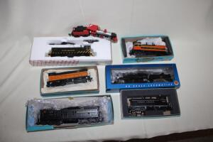 Locomotives, HO scale