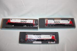 SOO locomotives, HO scale