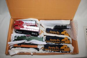 Santa Fe 3500 & 3600 locomotives, HO scale