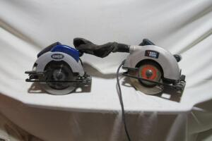 "Black & Decker 7 1/4"" circular saw"
