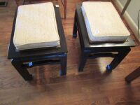 2 oriental style end tables/stools -LR - 4