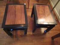 2 oriental style end tables/stools -LR - 7