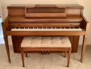 Kimball Piano and Bench