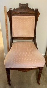 Antique Eastlake Style Parlor Chair