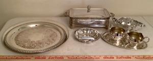 Silverplate Server Assortment