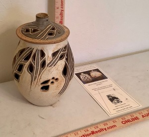 Meredith Flandreau Pottery Luminary
