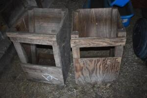 lamb and goat hay feeders