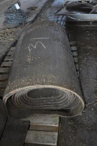 used rubber cow mat