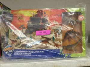 Animal Zone Dinosaur Mountain Encounter Set