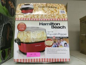 Hamilton Beach Hot Oil Popcorn Popper, Appears Used