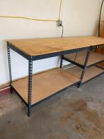 Workbench with Power Strip - 2