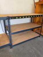 Workbench with Power Strip - 3