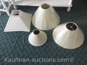 Misc lamp shades